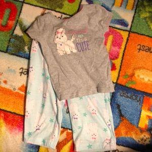 Etc 18 months carters puppy pajama set! 2 pieces